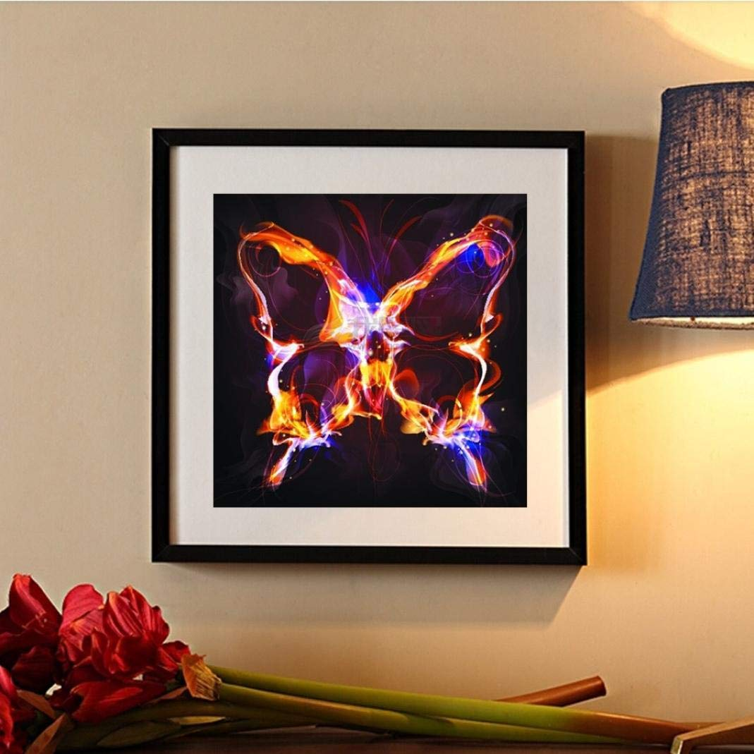 Bunt Mehrfarbig 5D Schmetterling Diamant Painting Stickerei Gemälde ...