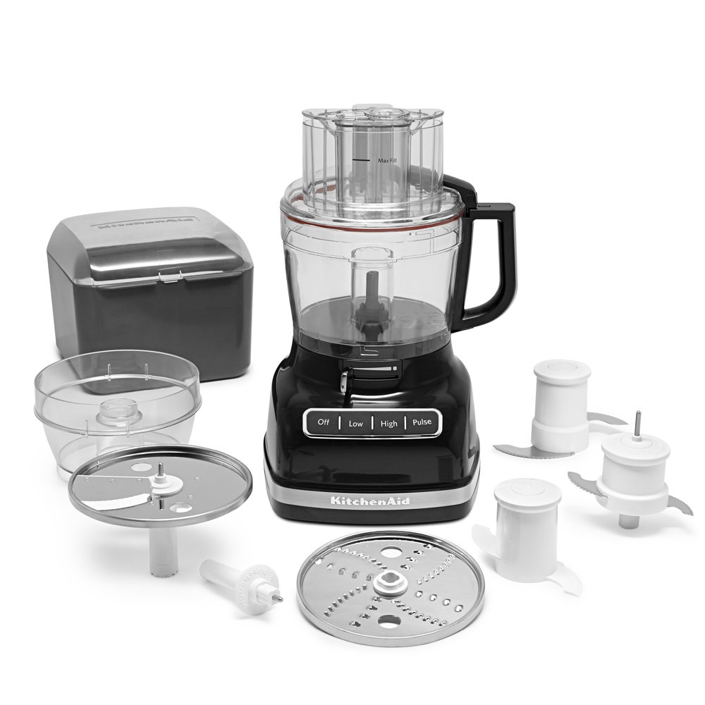 Kitchenaid food processor reviews 7 cup - Amazon Com Kitchenaid Kfp1133ob 11 Cup Food Processor With Exact Slice System Onyx Black Kitchen Dining
