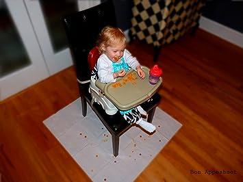 amazon com bon appesheet high chair floor mat absorbent