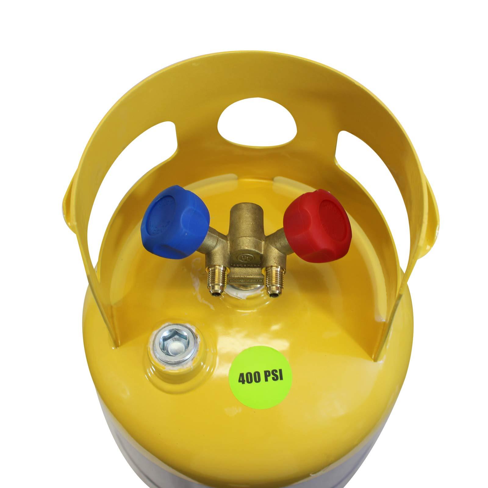 MASTERCOOL 62010 Gray/Yellow Recovery Tank by MASTERCOOL (Image #3)