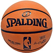 Spalding NBA Rubber Basketball Game Ball Series Outdoor Youth 27.5 Basketball by Spalding