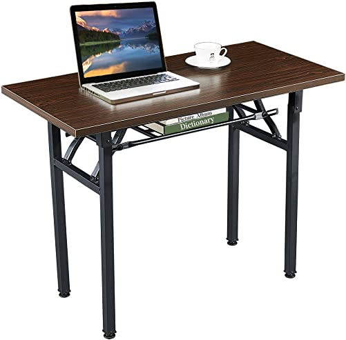 Computer Desk Folding Table No-Assembly Modern Desk