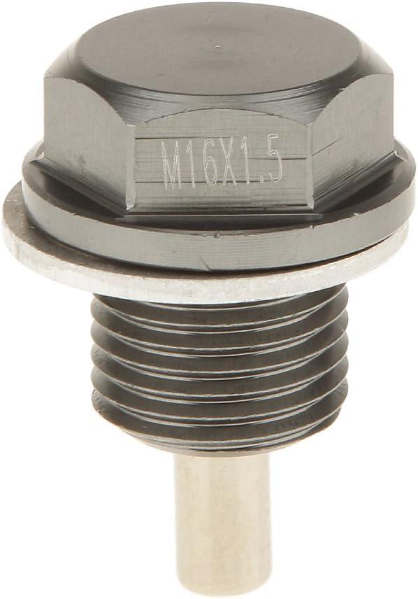 Homyl Magnetische /Ölablassschraube Abfluss M16x1 Motor/ölwanne Stecker Reparatur-Teil Motor Motorteile