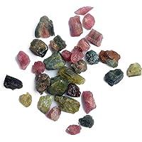 Cristales curativos en bruto de turmalina múltiple de 100 ct. Gran cantidad de turmalina cruda natural, trozos, piedras…