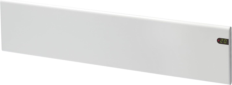 600W Frostschutz moderne elektrische Heizung niedrige H/öhe 200mm IP20C Adax Neo NL Konvektor KDT Wei/ß