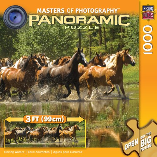 MasterPieces / Masters of Photography Panoramic Puzzle, Racing Waters