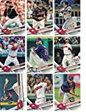 Cleveland Indians / Complete 2017 Topps Series 1 & 2 Baseball Team Set. FREE 2016 TOPPS INDIANS TEAM SET WITH PURCHASE!