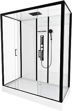 Cabina de ducha Urban Indus XXL 160 x 85: Amazon.es: Bricolaje y ...