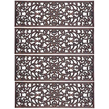 Amazon Com Decorative Rubber Stair Treads Antique Copper