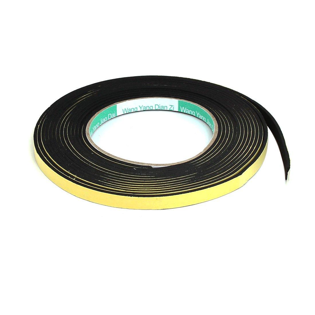 uxcell 8mmx2mm Singel Sided Sponge Tape Adhesive Sticker Foam Glue Strip Sealing 5 Meters a17050200ux0740