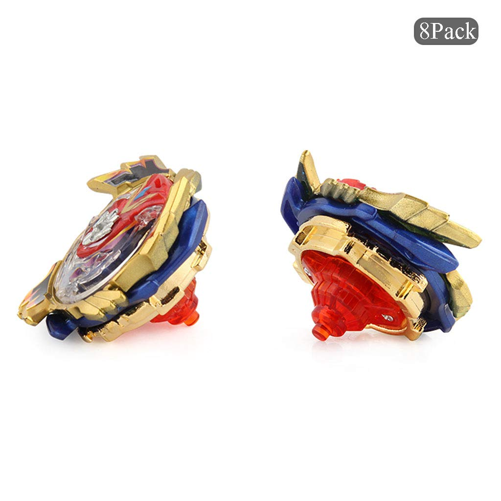 JIENI Beyblade Burst Starter - Beyblade Burst Gyro Set (8 Battling Top + 3 Launcher) Puzzle Creative Educational Gift Toy - Launcher Battle Game Tops Combination Set by JIENI (Image #7)
