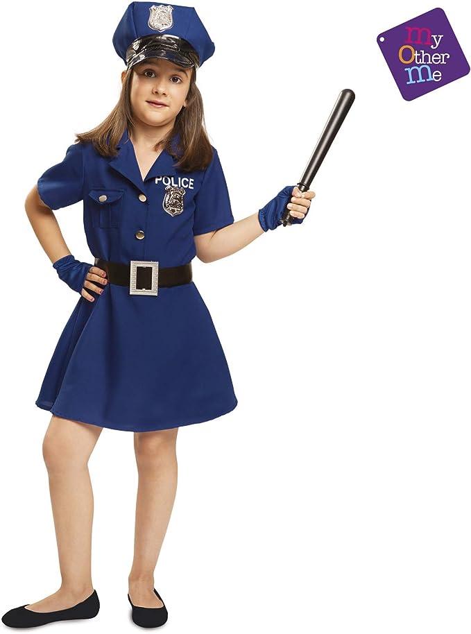 My Other Me - Disfraz de Policía para niña, talla 5-6 años (Viving ...