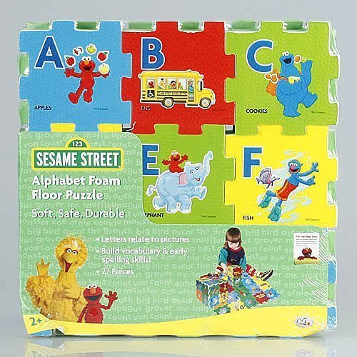 Sesame Street Alphabet Foam Floor Puzzle -