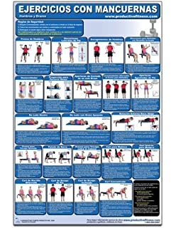 Ejercicios con Mancuernas - Hombros y Brazos - Cartel - Dumbbell Exercises - Shoulders and Arms