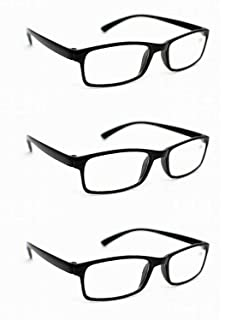 2eecc9bbd4b2 3 x Pairs Ultra-Lite Bendable TR90 Material Reading Glasses 13 LENS  STRENGTHS Available…