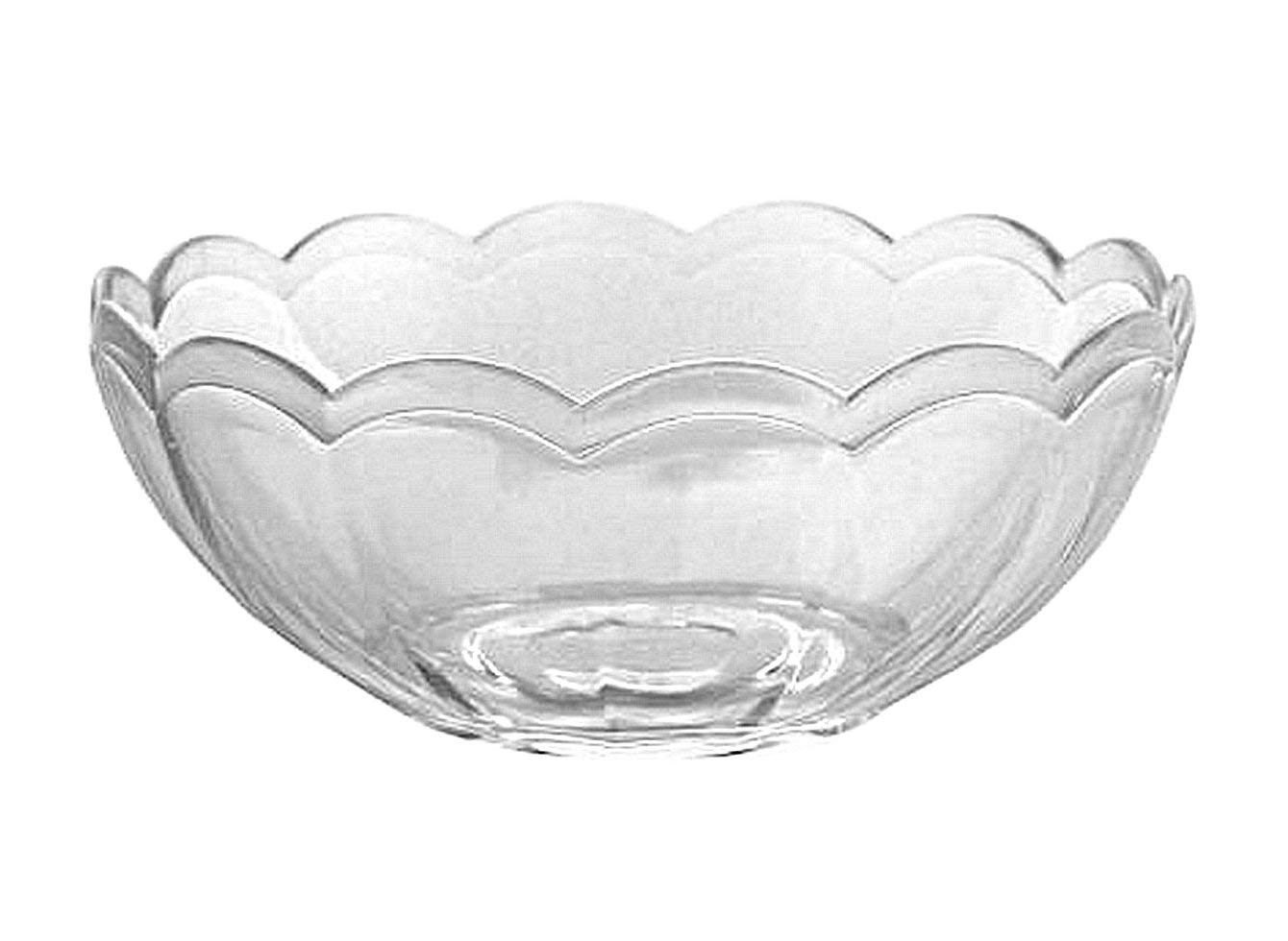 1 - Clear Snack Bowl 8 Oz. Party Accessory Party Supplies Clear Plastic