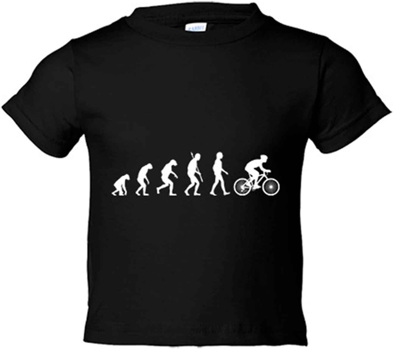 Camiseta niño Cyclist Evolution la evolución del ciclista ciclismo ...