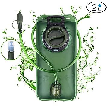 Bolsas de agua Tagvo Kit de limpieza de la vejiga de hidratación para el depósito de agua universal juego de limpieza 4 en 1