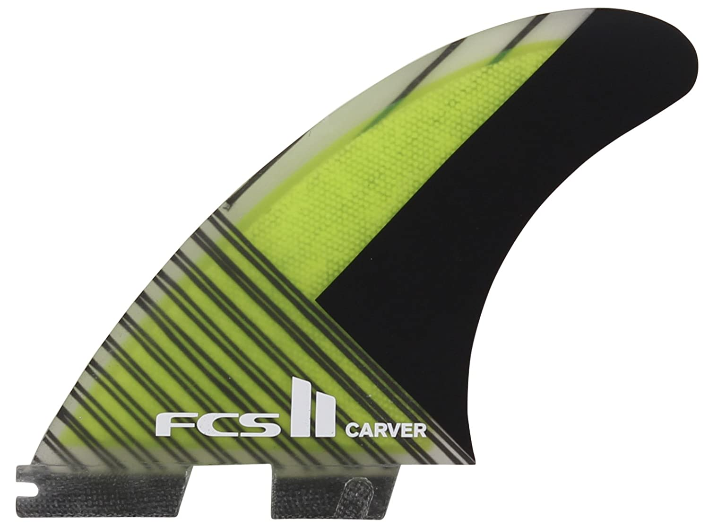 Amazon.com   FCS II Carver Performance Carbon Tri Fin Set - Green   Sports    Outdoors 211401fd5
