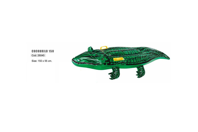 Safari Sub Figura Hinchable Modelo Cocodrilo (150x50 cm ...