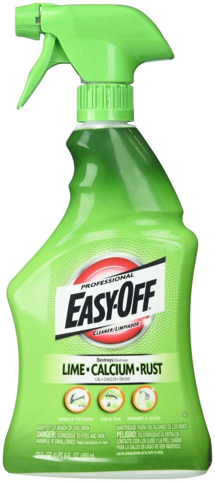 Easy-Off Lime-Calcium-Rust Cleaner Trigger, 22 Ounce by Easy Off
