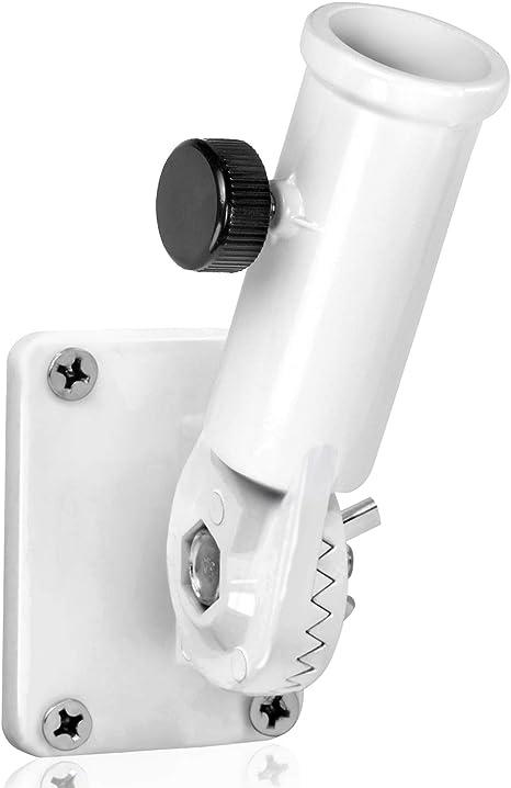Anley Multi-Position Flag Pole Holder Mounting Bracket with Hardwares Robust und rostfrei 1 Innendurchmesser Hergestellt aus Aluminiumlegierung