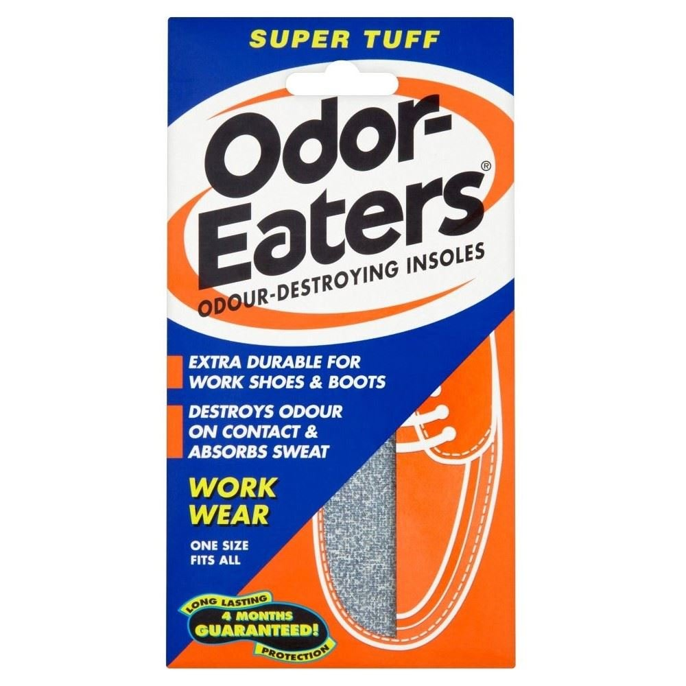 Odor-Eaters Super Tuff Insoles - Pack of 6