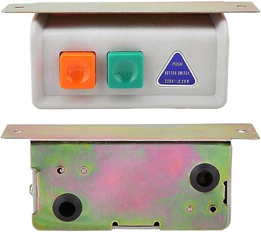 Máquina de coser Interruptor de motor Botón de paro de inicio ...