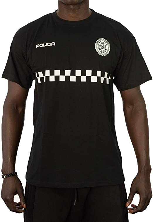 Alpimara Camiseta Policía Local Hombre: Amazon.es: Ropa y accesorios