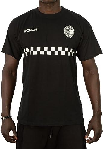 Alpimara Camiseta Policía Local para Niño (Negro, 9/11 Años): Amazon.es: Ropa y accesorios