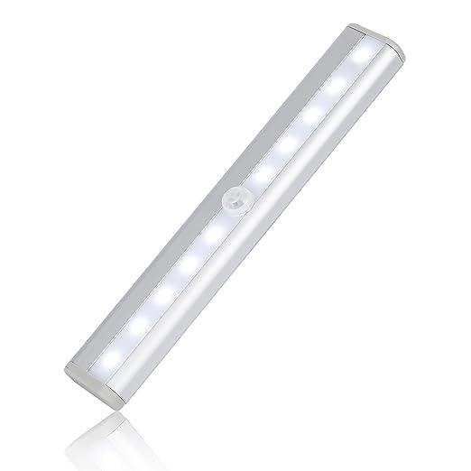 9 opinioni per LESHP Rivelatori di movimento 10 LED luminosi senza fili sensore a infrarossi