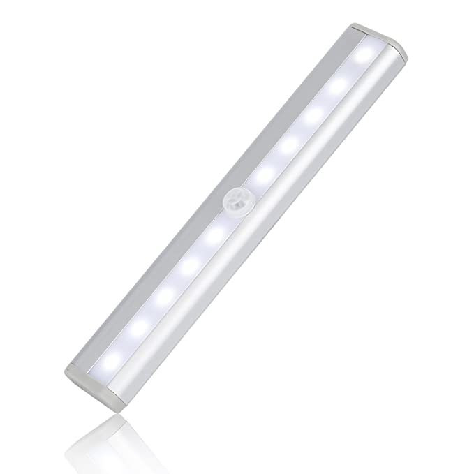 13 opinioni per LESHP Luci del Sensore di Movimento Molto Luminoso 10 Wireless Sensor LED