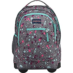 JanSport Driver 8 Rolling Backpack (Spring Meadow)