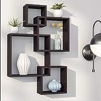 Amaze Shoppee MDF Intersecting Wall Shelves…