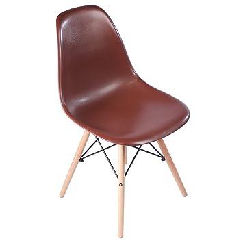 Tremendous Amazon Com Mid Century Modern Retro Side Dining Chair Unemploymentrelief Wooden Chair Designs For Living Room Unemploymentrelieforg