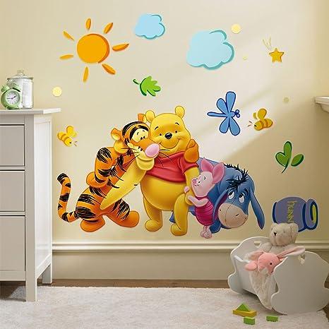 3D Aufkleber Winnie the Pooh für das Kinderzimmer