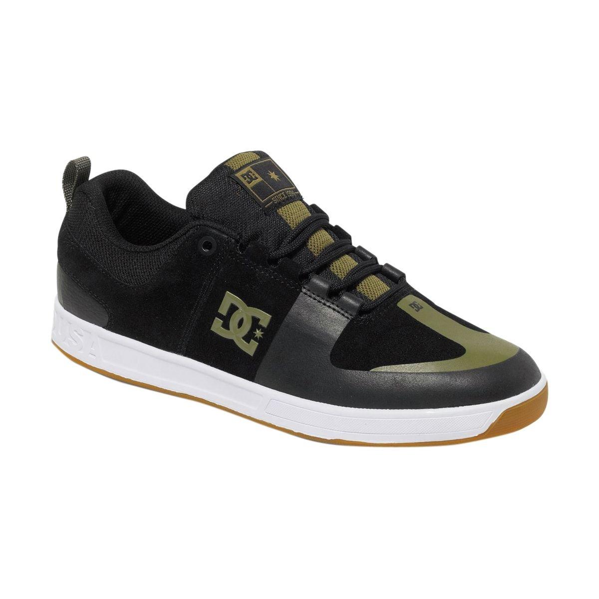 What Is The Best Price For DC Lynx Prestige S Skate Shoe Mens Black Black Gum 9 5