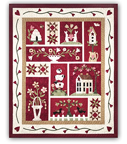 - From the Heart Quilt Kit - by The Quilt Company - Lap Size Quilt Kit & Backing - Maywood Studios Fabric