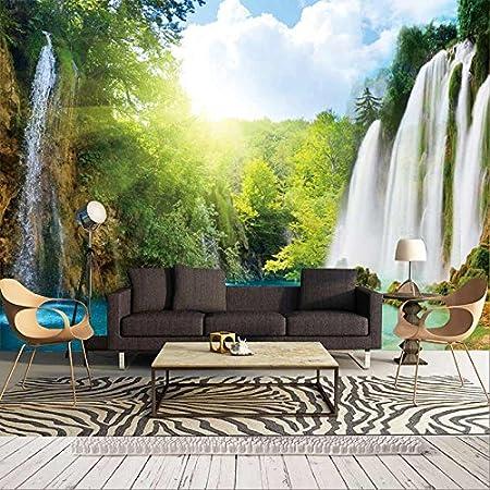 Wallpaper Non Woven Custom Size Premium 3D Wall Paper Murals View Living Room Sofa