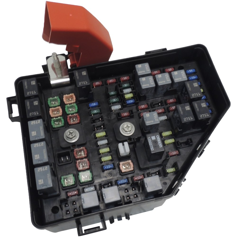 Amazon.com: 2013-14 BUICK ENCLAVE WITH TOWING PACKAGE LOADED FUSE & RELAY  BOX 22933351: Automotive