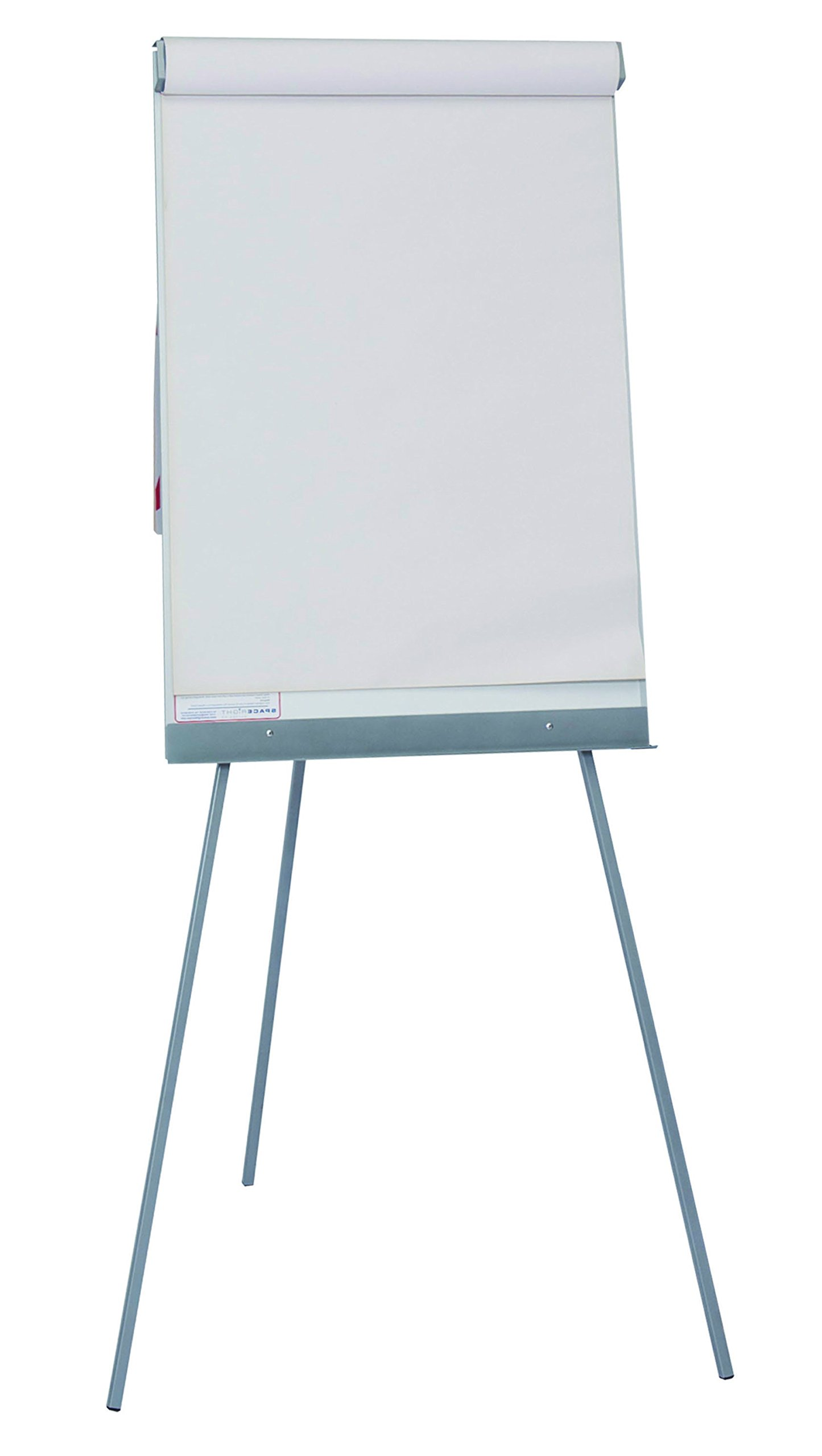 Spaceright Europe Non-Magnetic Telescopic Flipchart Easel Writing Board
