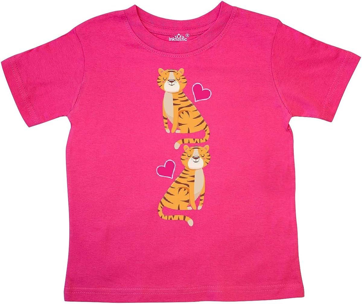 inktastic Tiger Jungle Animal Toddler T-Shirt