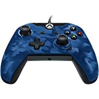 Xbox One PDP Wired Controller Blue Camo
