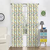 Eclipse 16458042X063MUL Jungle Party 42-Inch by 63-Inch Signle Window Curtain Panel, Multi