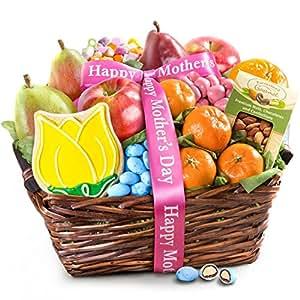 Golden State Fruit Mothers Day Fruit & Treats Gift Basket