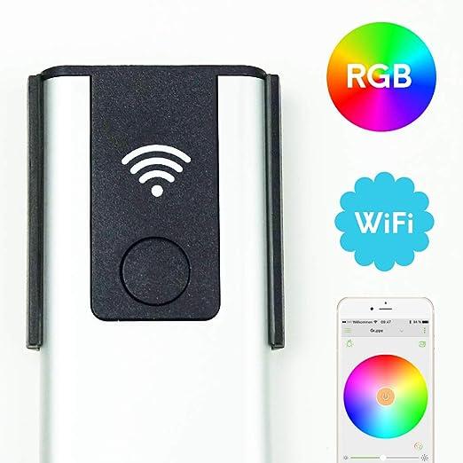 led wifi controlador RGB compatible con Alexa y Google Home controlador por smartphone: Amazon.es: Iluminación