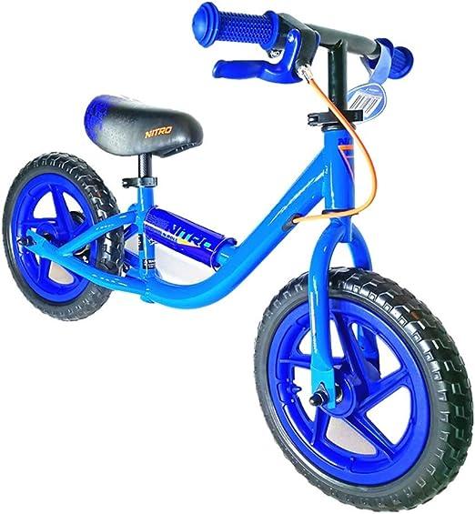 Bicicletas sin pedales Bicicleta Ligera de Equilibrio Azul con ...