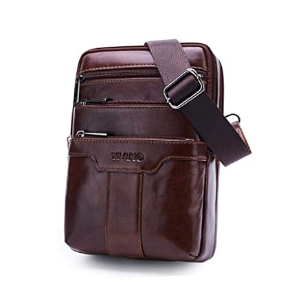 5013bcd51b Image Unavailable. Image not available for. Color  KOBWA Men Sling Bag