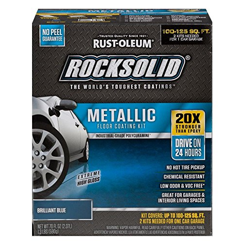 Rust-Oleum RockSolid Brilliant Blue Metallic Garage Floor Kit by Rust-Oleum