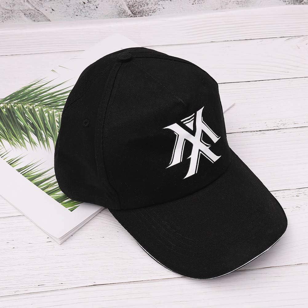 Saicowordist KPOP EXO Regulr Fnf-Serien Baseball Kappe Logo-Druck Sportlicher Stil Sonnen Schirm Hut Heies Geschenk EXO3